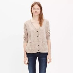 NWOT Madewell Textured Landscape Cardigan